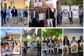 Los partidos cierran la campaña electoral del 26M