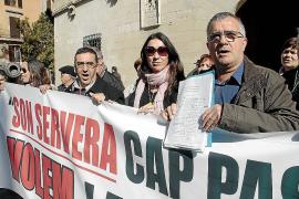 Bauzá se compromete a solucionar el cierre de la carretera de Cala Millor