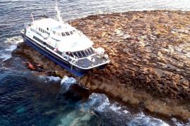 Baleària prevé presentar su plan de descontaminación del Maverik Dos la semana que viene