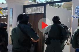 Cinco detenidos pertecientes a un grupo criminal vinculado con los incendios de Ibiza