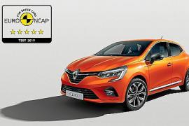 El Renault Clio obtiene las cinco estrellas EuroNCAP