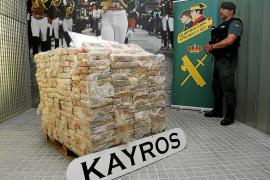 Ingresan en prisión los dos narcotraficantes capturados con el alijo de 600 kilos de coca