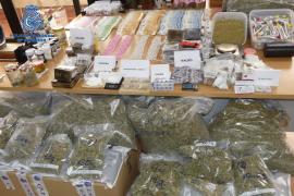 Desarticulada en Palma una banda dedicada al tráfico de drogas