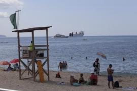 La Playa de Can Pere Antoni, reabierta al baño