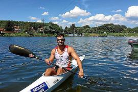 Carlos Borrás, oro en K2 200 en la Copa del Mundo de piragüismo