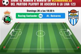 Así hemos vivido el Racing de Santander-Atlético Baleares