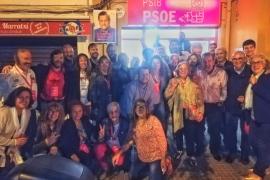 El PSOE gana las elecciones en Marratxí con 6 concejales y con la opción de revalidar el pacto