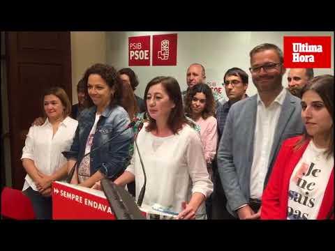 Armengol (PSIB): «Es una victoria histórica»