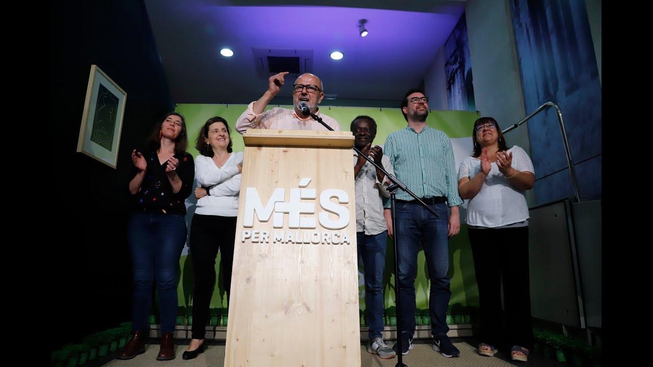 Més per Mallorca excusa su caída con el «efecto Sánchez»