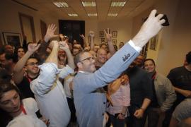 El PSIB-PSOE gana las elecciones en Palma y se podrá reeditar el pacto de izquierdas