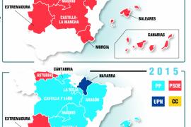 Así ha votado España en las elecciones autonómicas