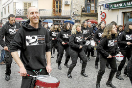 La 'batucada' más numerosa de Mallorca