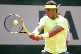 Nadal pasa sin sobresaltos a la segunda ronda de Roland Garros