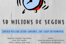 Manacor acoge la cantata de Sebastiana Galmés '50 milions de segons'
