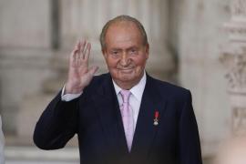 El rey Juan Carlos I se retira