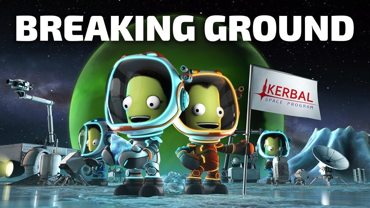 Kerbal Space Program: Breaking Ground. Trailer de gameplay