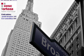 'Viaje a Broadway' con la compañía Figura-T en el Teatre Xesc Forteza