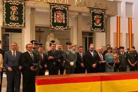 La Guardia Civil celebra en Málaga su 175 aniversario recordando a Julen