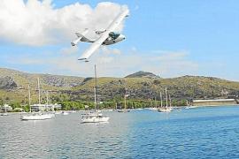 Luz verde a los amerizajes de hidroaviones civiles en Pollença