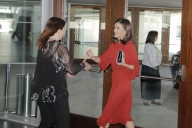 La reina Letizia clausura en Palma la conferencia sobre Escuelas Seguras