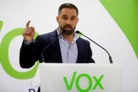 Abascal avisa a PP y Ciudadanos de sus «líneas rojas» para negociar
