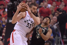Marc Gasol e Ibaka aspiran emular a Pau y lograr el anillo de la NBA