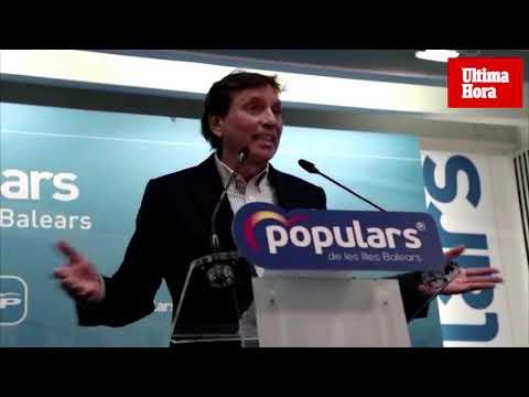 Isern: «Me retiro de la vida política porque no puedo ser el candidato en 2023»
