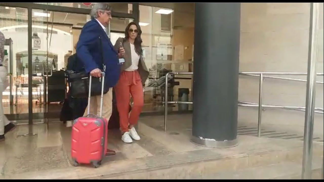 Nuria Fergó, ante la jueza en Palma