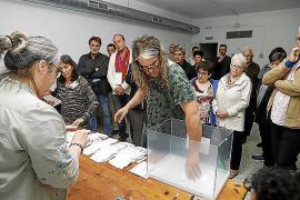 Cientos de votos de Palma cambian de partido tras la revisión de las actas