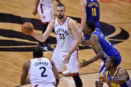 Los Raptors de Marc Gasol e Ibaka toman ventaja en la Final de la NBA