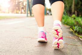 ¿Hay que dar 10.000 pasos al día para estar sano?