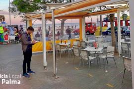 La Policía de Palma levanta 60 actas en Zonas de Especial Interés Turístico