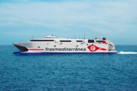 Un buque de alta velocidad de Trasmediterránea cubrirá la línea Gandía-Ibiza-Palma