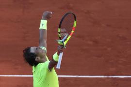 Nadal se deja su primer set de camino a los octavos de Roland Garros