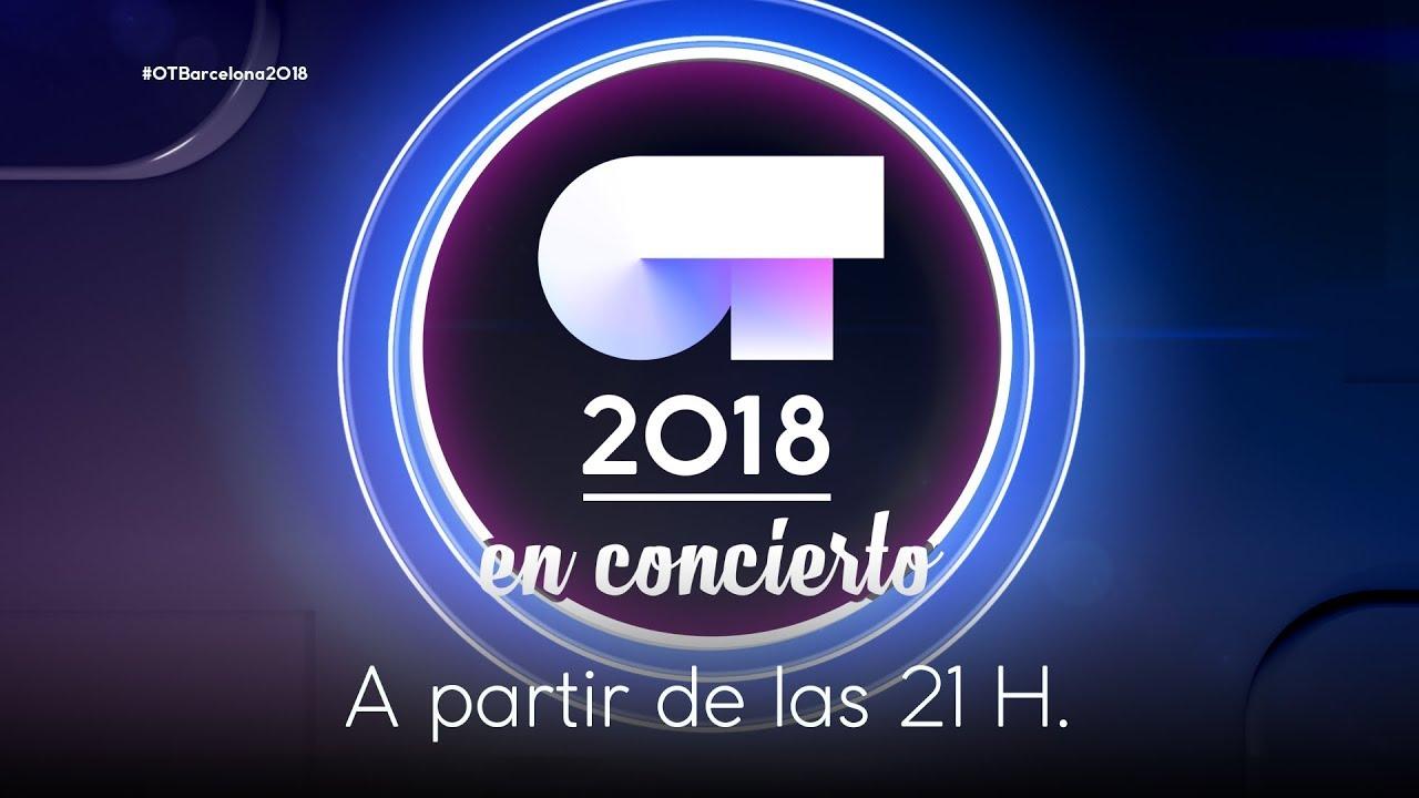 El concierto de OT 2018 en el Palau de Sant Jordi