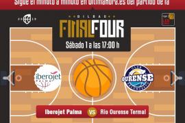 Iberojet Palma-Ourense, en directo