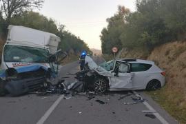 Un muerto y un herido grave en un accidente de tráfico en Muro