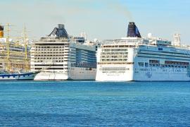 El puerto de Palma recibirá 300 cruceros durante el verano, un 7 % más que en 2018