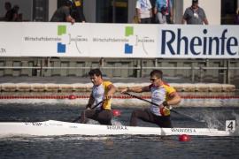 Sete Benavides y Toni Segura logran la medalla de oro en C2 200 en Alemania