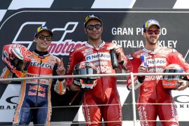 Petrucci se impone en el Gran Premio de Italia de MotoGP