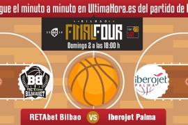 Así ha sido el partido entre el Retabet Bilbao-Iberojet Palma