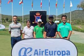 Lucía López y Federico Páez, campeones de Balears Absolutos de golf
