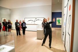 Quebec se rinde al Miró «más salvaje»