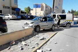 Triple positivo tras sufrir un accidente en Sant Jordi (Ibiza)
