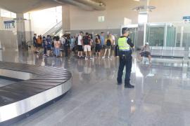 Desalojan la estación marítima de Palma por una mochila sospechosa