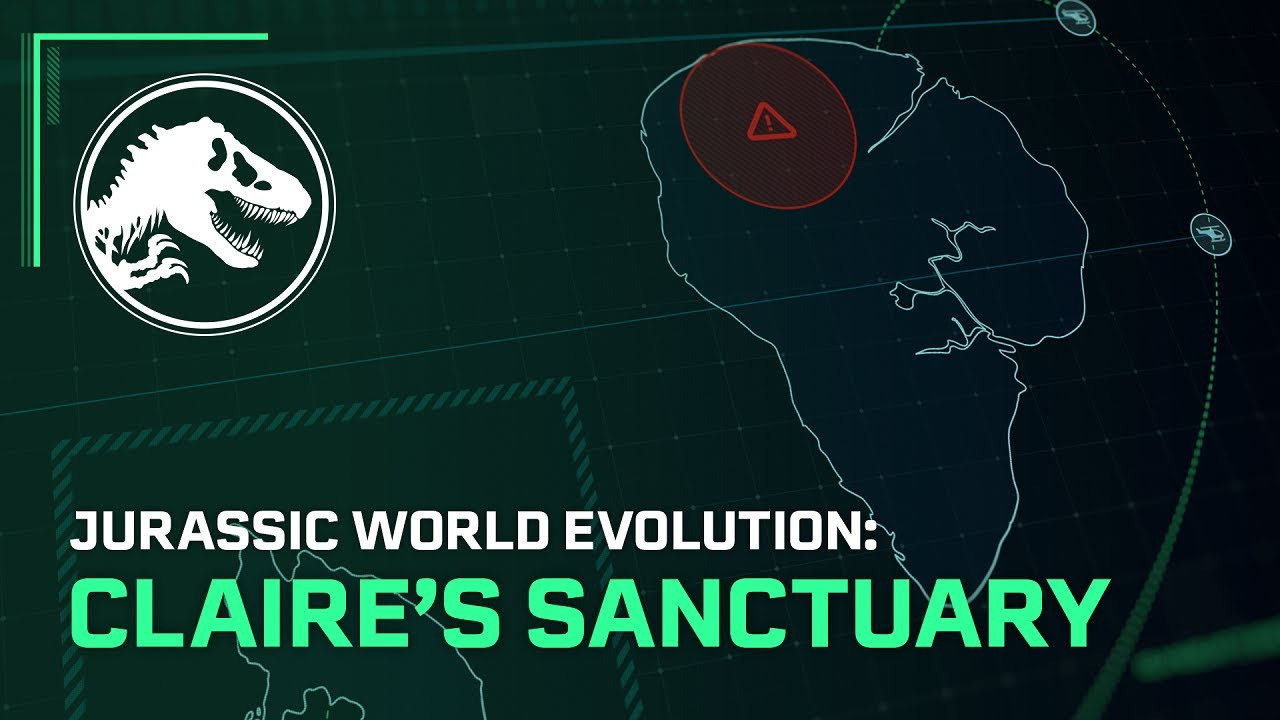 Jurassic World Evolution: El Santuario de Claire