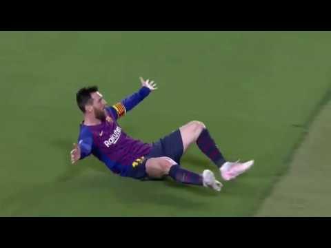 El gol de falta de Messi al Liverpool, el mejor de la Liga de Campeones