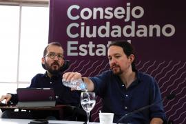 Pablo Iglesias bromea sobre la supuesta «purga» de Echenique en la dirección de Podemos