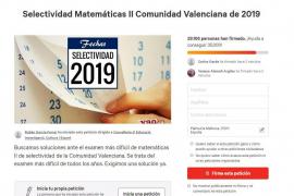 Denuncian la dificultad del examen de Matemáticas en la Selectividad valenciana