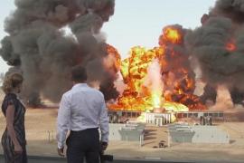 Un herido tras una explosión durante el rodaje de la nueva película de James Bond